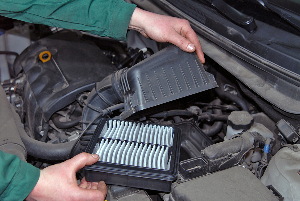 car air filter repair